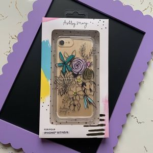 Ashley Mary iPhone 8 7 6s 6 Case Floral Bouquet